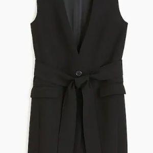 J. Crew 365 Black Suit-like sweater vest, 2